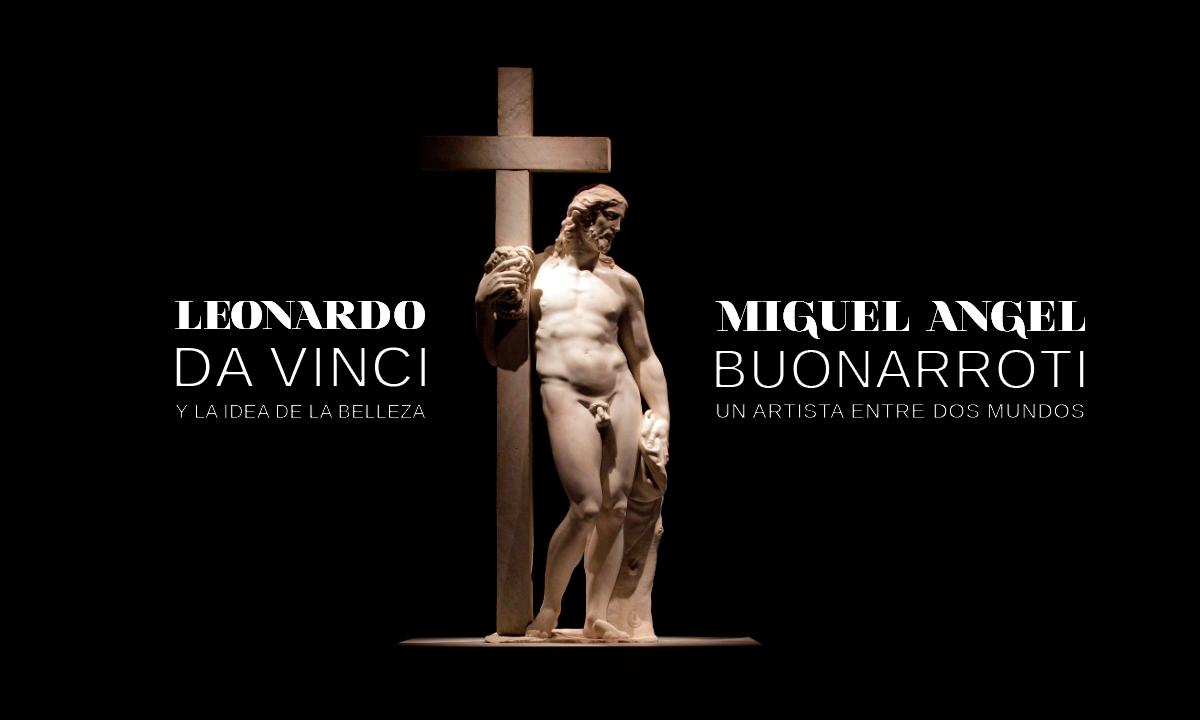 Leonardo-Da-Vinci-Miguel-Angel-Buonarroti-ciudad-mexico-city-palacio-bellas-artes-advert-poster-graphic-design-exhibition-publicidad-diseño-grafico-exhibicion-colombia-